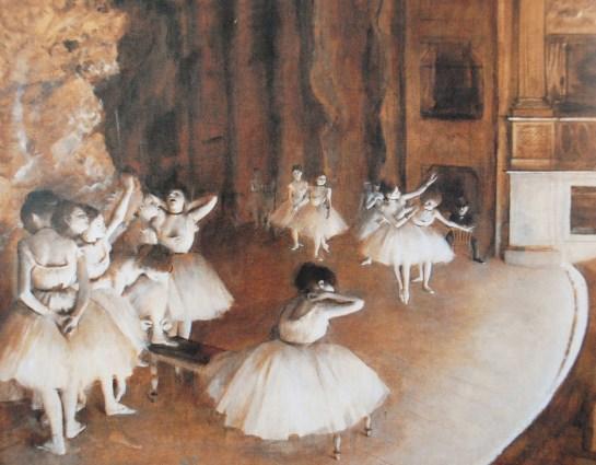 Edgar Degas, The Dance Class, 1874.