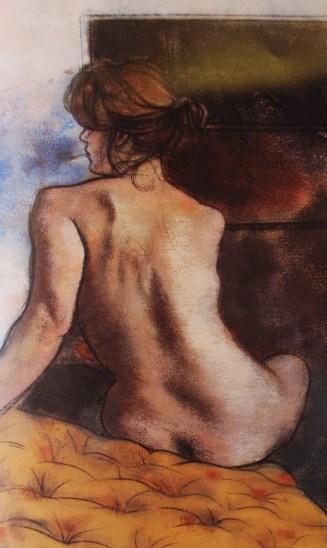 R. B. Kitaj, Maryrnka Smoking, 1980
