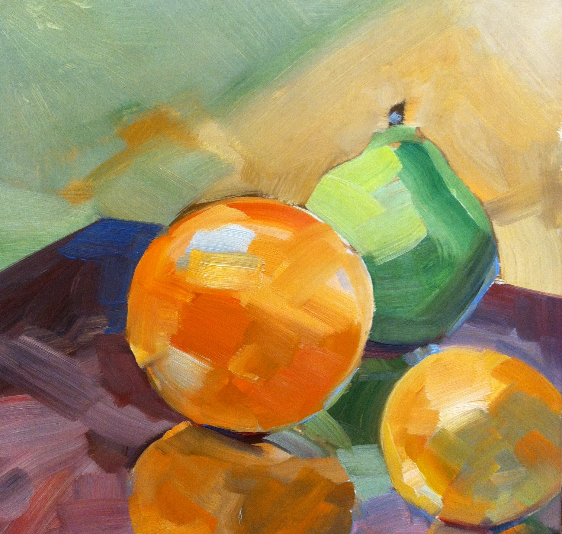 Introduction To Oil Painting 5 Tetradic Color Notes