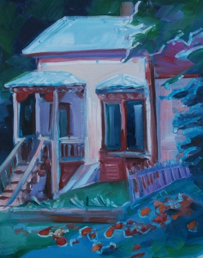 Meredith Milstead, Ouray Vicky, oil on panel, 2013