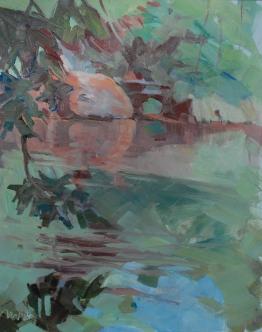 Meredith Milstead, 8x10,oil on panel, 2013