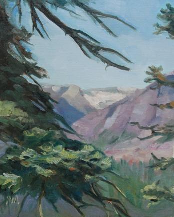 Meredith Milstead, 8x10, oil on panel, 2013