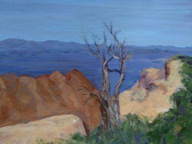 Valerie Milner-Graham, oil on panel, 2013